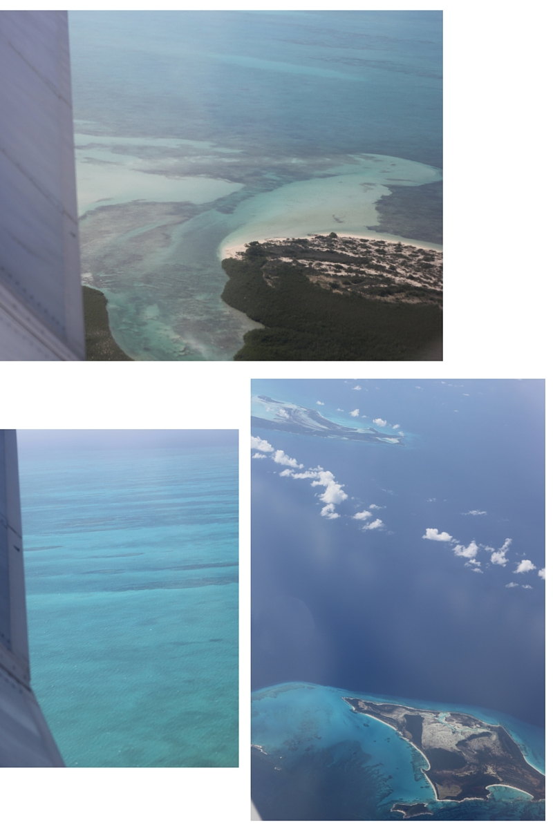 flying to turks and caicos