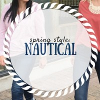 nautical, spring style, style inspiration