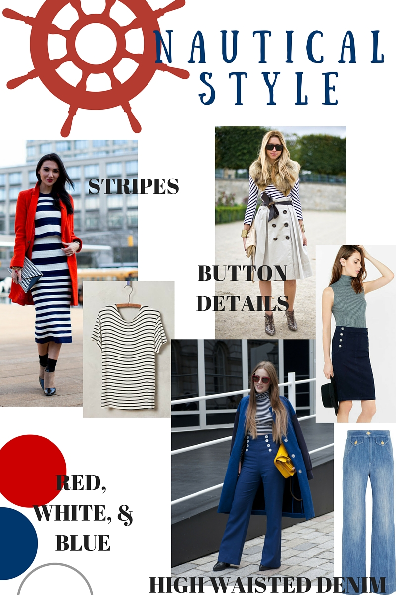 nautical style, spring style