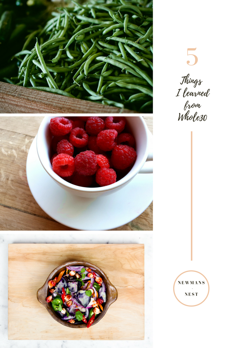 whole30, what i learned from whole30, healthy lifestyle, cleanse