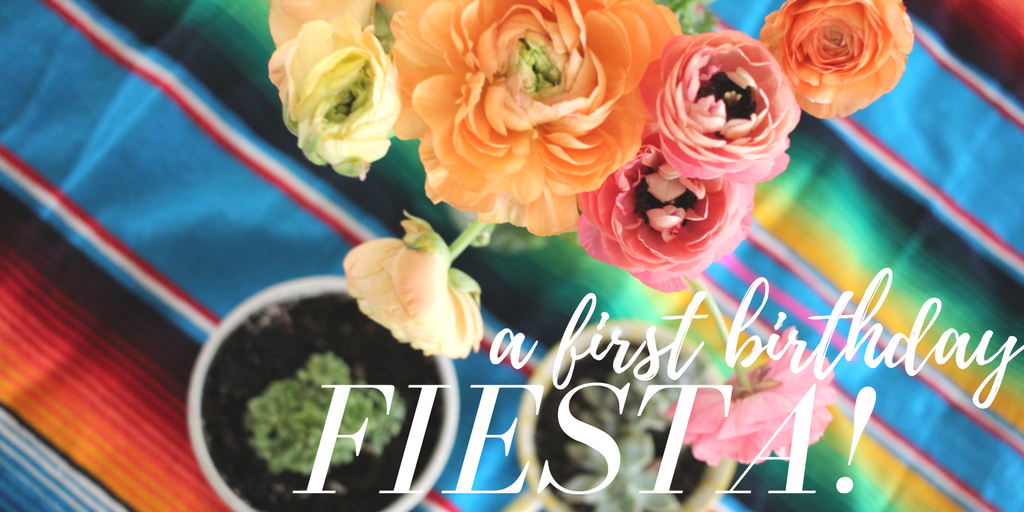 fiesta first birthday party