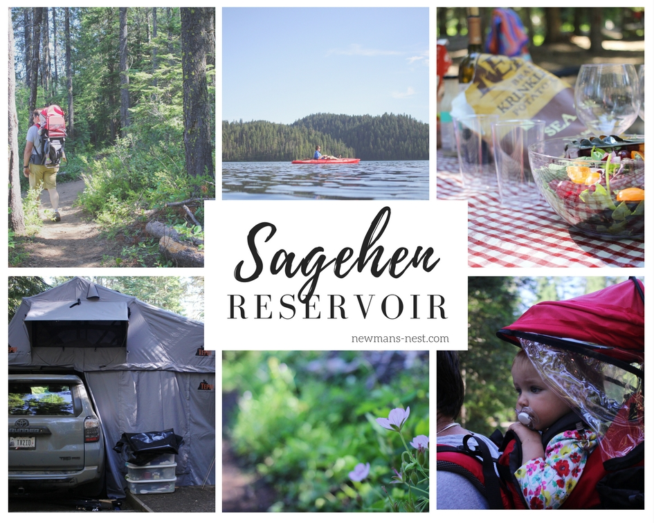 best camping spot in sagehen campground, idaho camping, sagehen campground