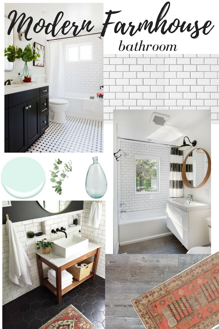 Dreaming of: Modern Farmhouse Bathroom Remodel - Newman's Nest on Modern Farmhouse Shower  id=92281